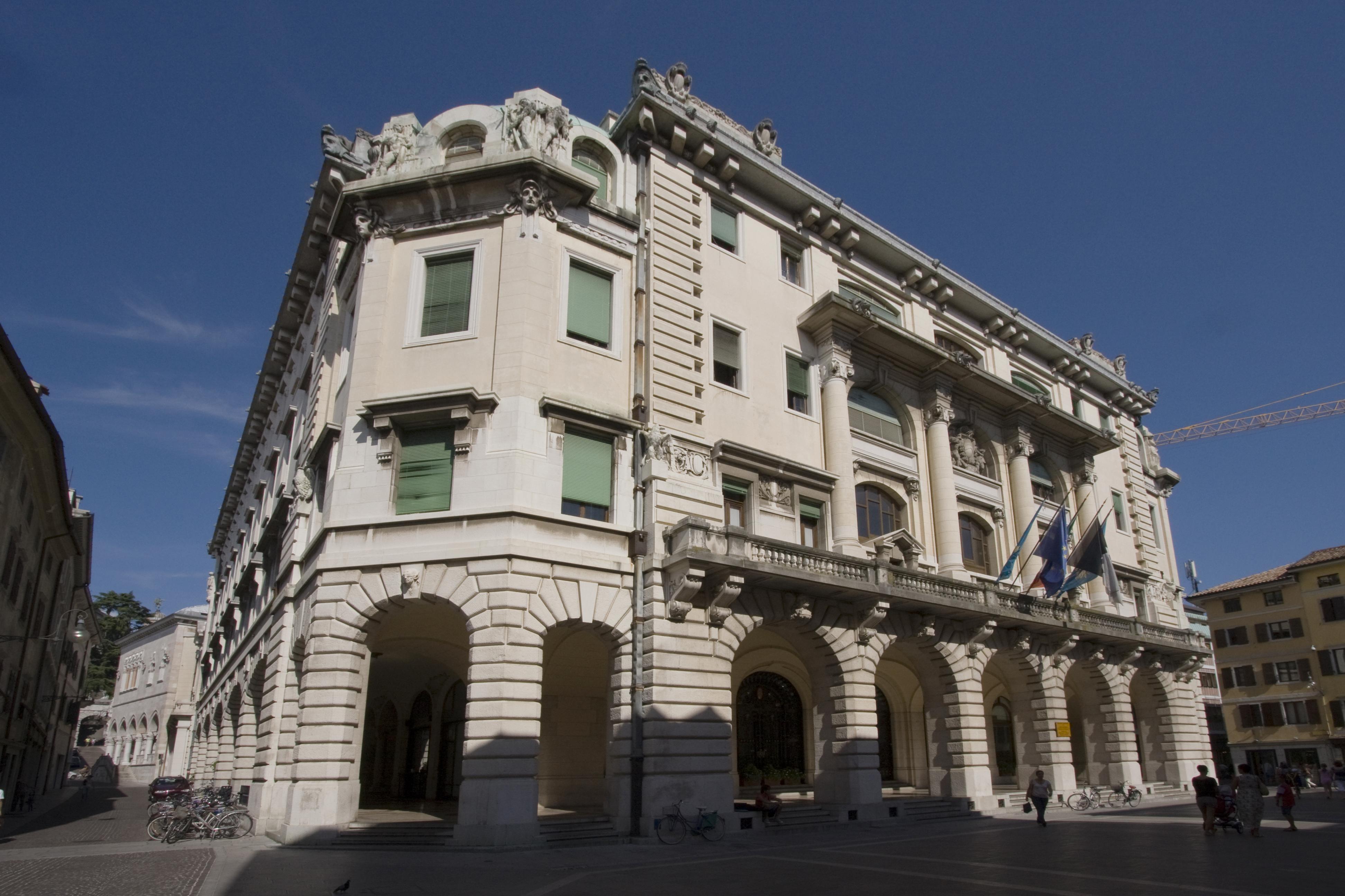 Il Palazzo Comunale di Udine