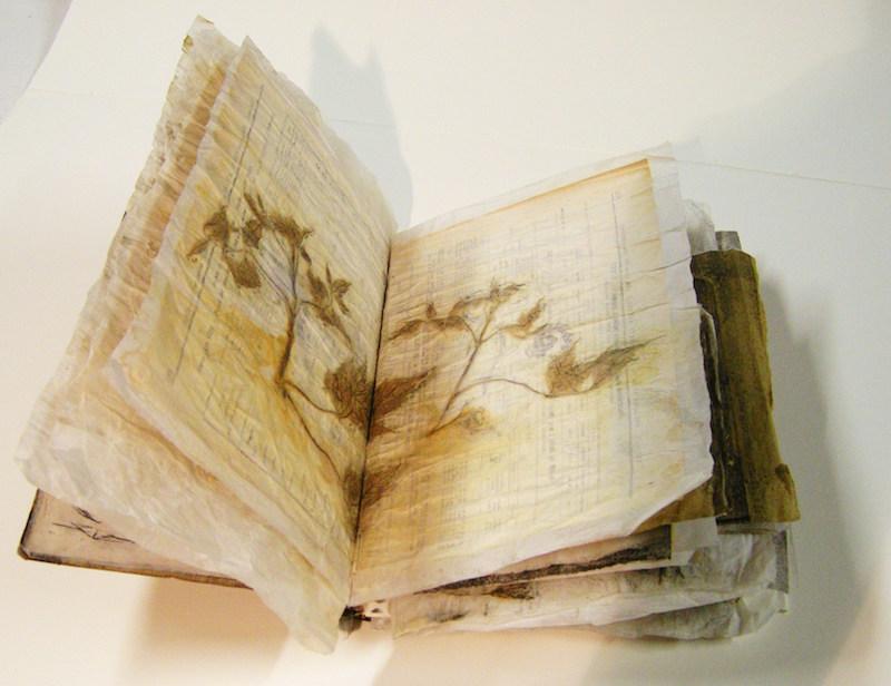 Opera di Candini per Libro d'Artista