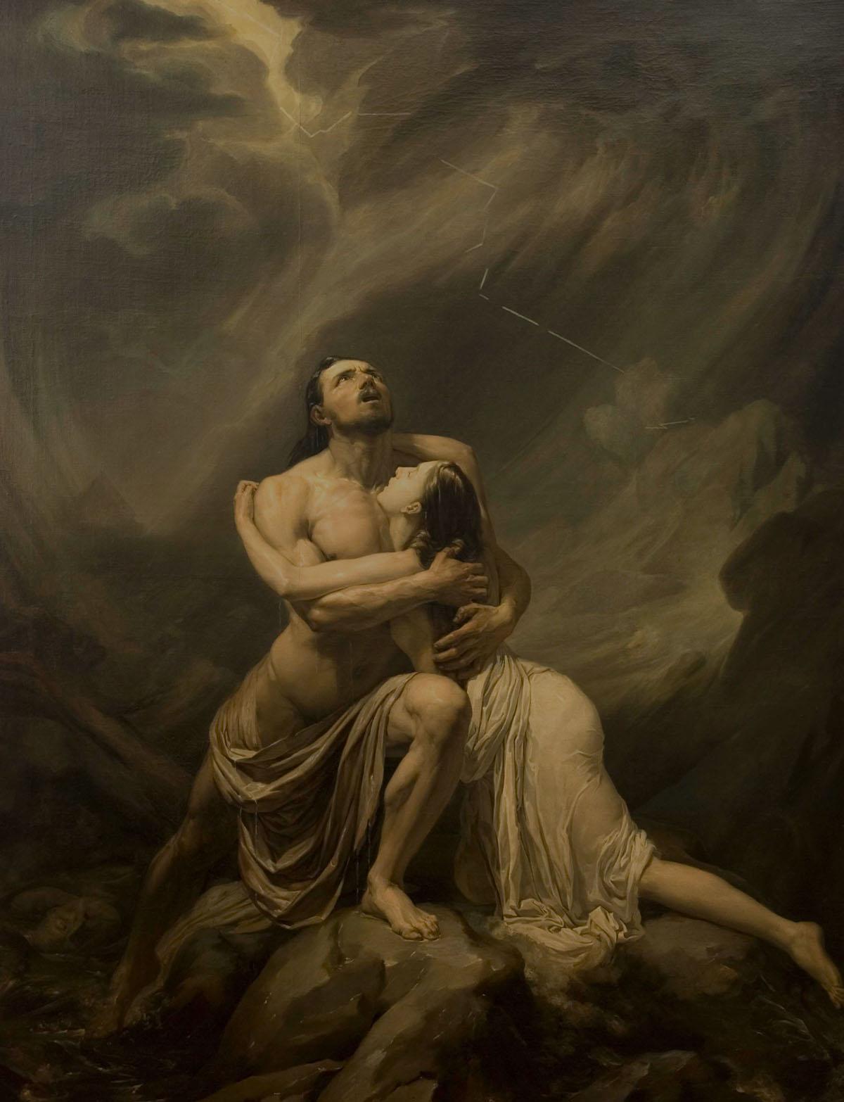 Il diluvio - Filippo Giuseppini,1836