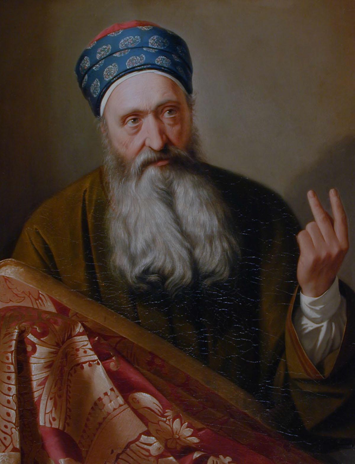 Il venditore di tappeti - Giuseppe Malignani,1856