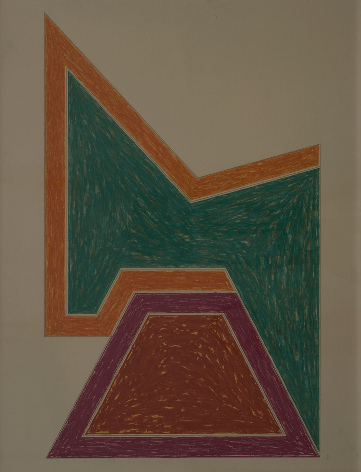 Senza titolo - Frank Stella - 1974 Collezione Friam