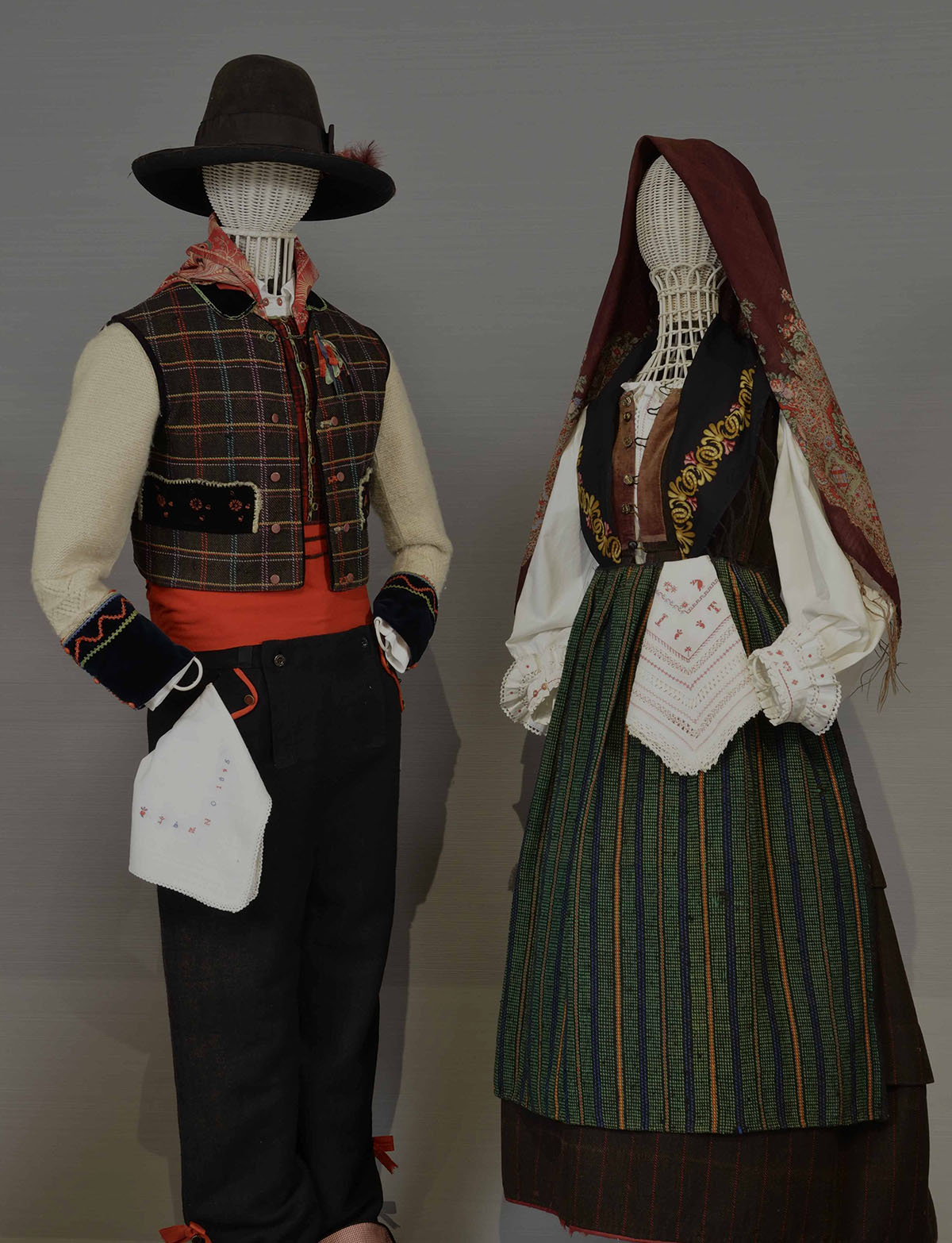 Nineteenth-century folk costumes - Aviano