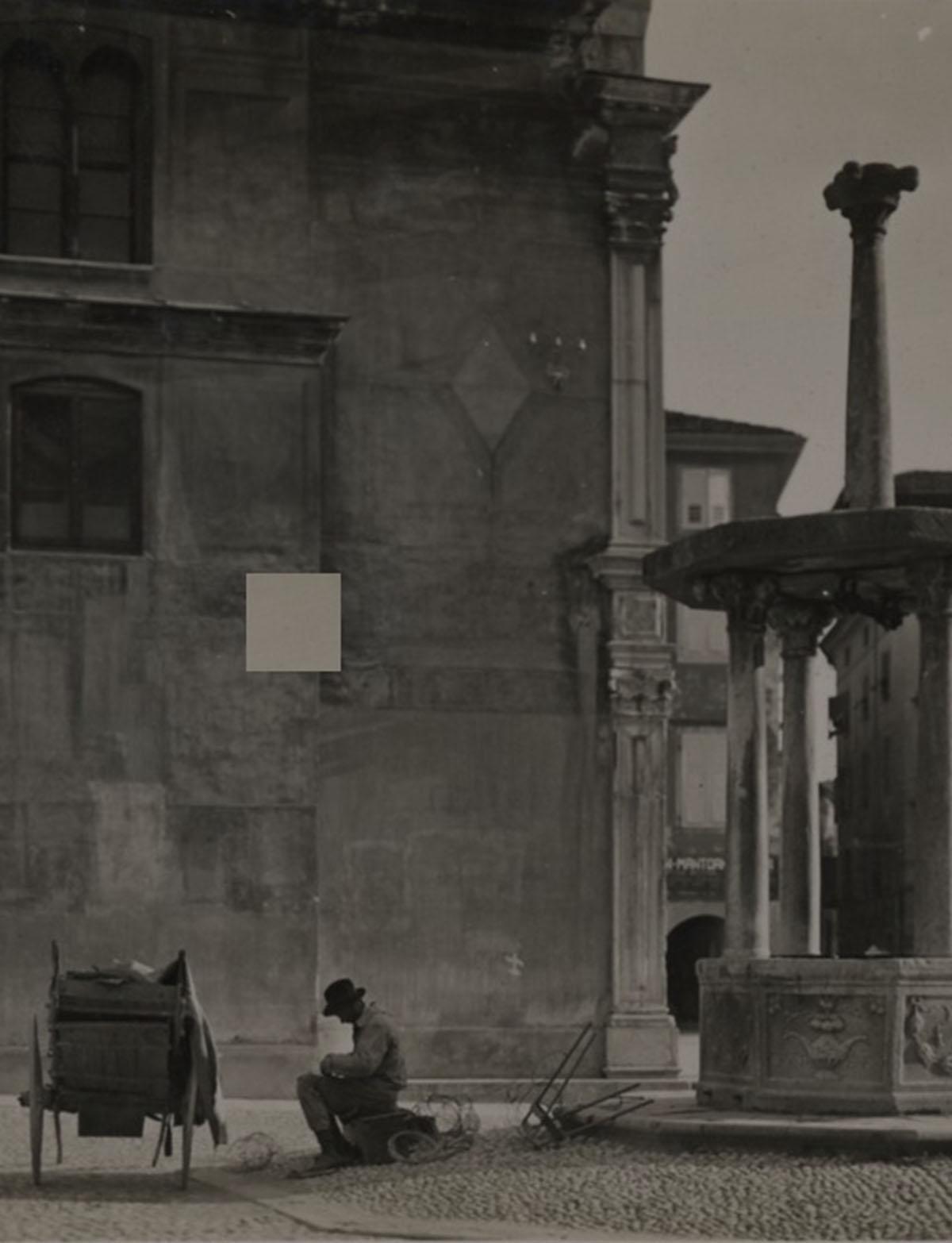 Piazza San Giacomo - Attilio Brisighelli,1910