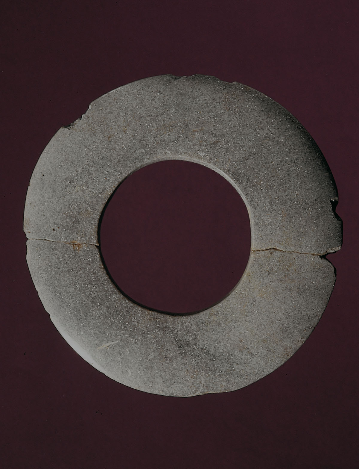Neolithic Ring - Ring of green stone from the Neolithic site of SammardenchiaPozzuolo del Friuli_Udine