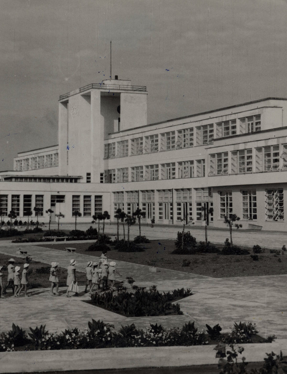 Colonia elioterapica a Lignano - Pietro Zanini,1935-1939
