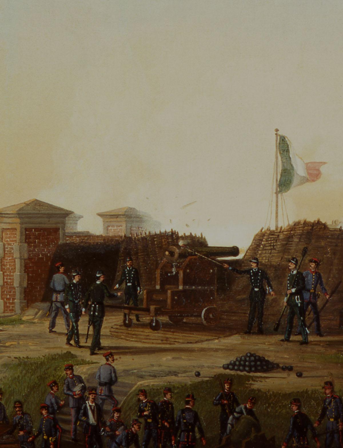 Il forte di marghera - 1849